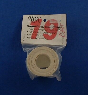 ROX adhesive backed fabric rim tape Mountain bicycle New 19mm 29er SuperDutE, used for sale  Shipping to India