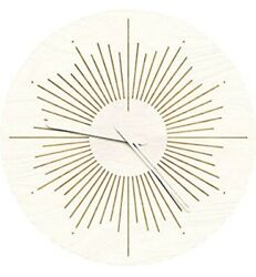 Wenday Wall Clock,12 Silent Non-Ticking Quartz Decorative Clocks, Modern