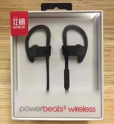 Beats Powerbeats3 PowerBeats 3 Wireless In Ear Headphones Bluetooth Black