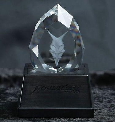Emblema Fuego Musou Dragonstone Cristal & Voz Pedestal Dragon Piedra Warriors