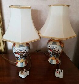 Pair of Japanese Table Lamps