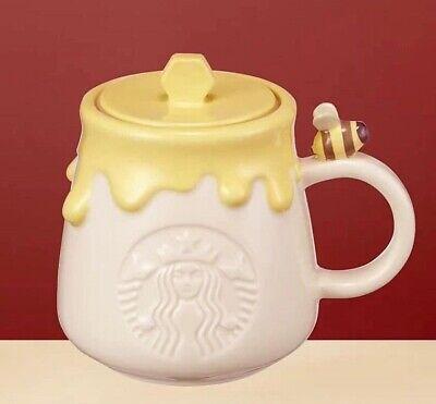 Starbucks Korea 2021 Autumn MD Autumn Siren Honeybee Mug & Reed 355 ml