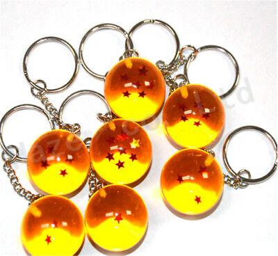Anime Dragon Ball 2.7 cm Resina Auto Clave Cadenas Llavero Clave Hebilla