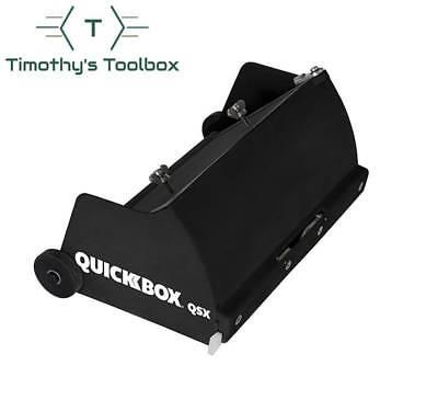 Tapetech Quickbox 8 Drywall Flat Finishing Box For Hot Mud Qb08-qsx New