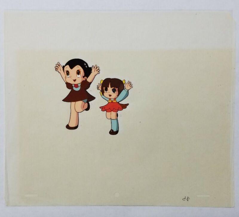 Astroboy Anime Cel Atom Animation Art Uran Tezuka 1980s