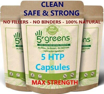 5htp 400mg Veg Capsules Best 5 HTP Capsules 100% Natural Griffonia Seeds 5greens