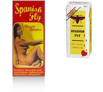 Spanische Fliege Extra Spanish Fly Passion INTENSO Love Drops Lust Aphrodisiaka