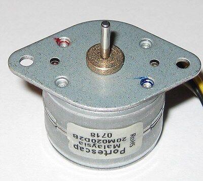 Portescap Bipolar Mini Stepper Motor - 12 V - 18 Degstep - 20 Steps - 20m020d