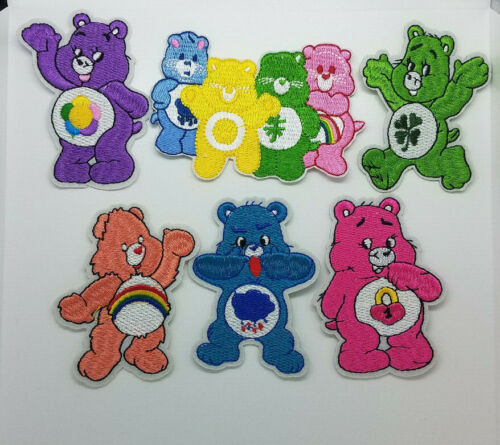 Care Bears Embroidered Patches. Your choice