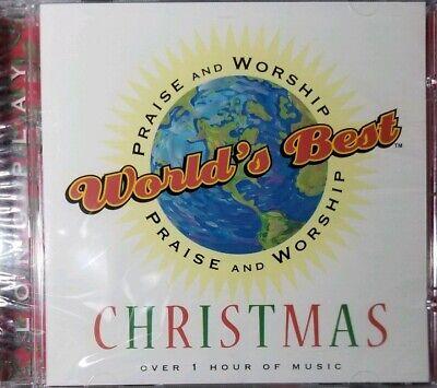WORLDS BEST PRAISE AND WORSHIP CHRISTMAS MUSIC - Brand New! - CD