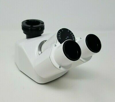 Zeiss Microscope Binocular Head With Phototube 4523 5050 425523-9030