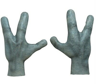 Area 51 Alien Hands Gloves Halloween Costume Horror Arms UFO Roswell