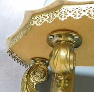 Marble Top Gold Ornate Display Couch / Wall table London Ontario image 6