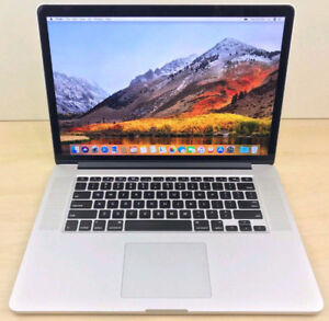 Mid-2015 15-inch Retina MacBook Pro Quad i7 2.5GHz/R9/16GB/256GB