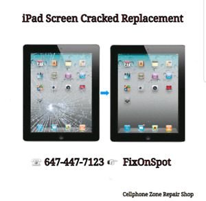 iPad Air touch Screen Replacement $75 ☆ 1Hr Service  ☆
