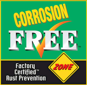 Corrosion FREE rust proofing