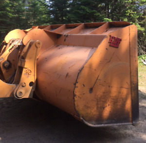 Bucket a neige EDF 6 verges 10' large pour loader