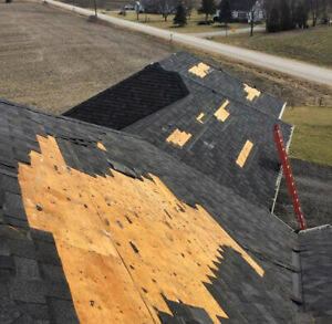 WIND REPAIR! WE REAPIR YOUR SHINGLES!  Call The Roofing Master!