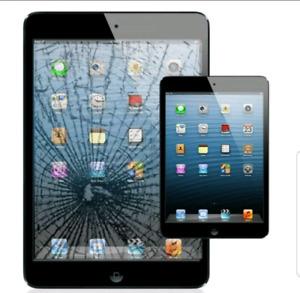 iPad 2 ☆ 3 ☆ 4 Broken Screen Glass Repair $49