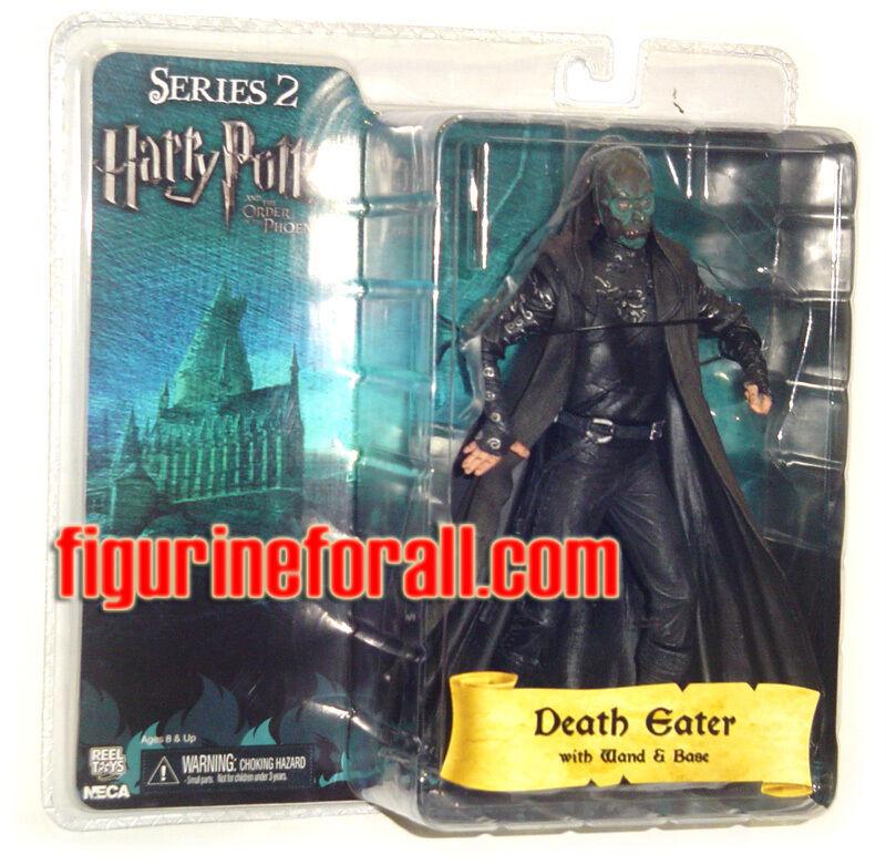"Harry Potter Series 2 DEATH EATER Green Mask 7"" figure base"