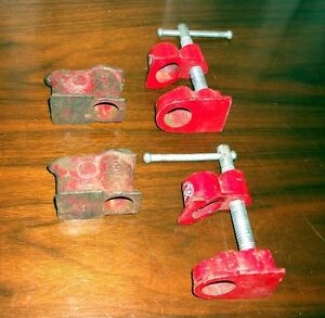 Bar Clamp attachments for making / repairing table tops