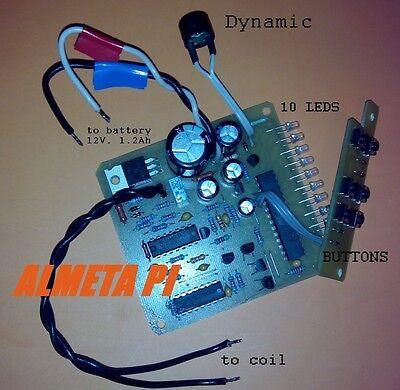 Russian pulse induction DIY metal detector ALMETA PI deep search