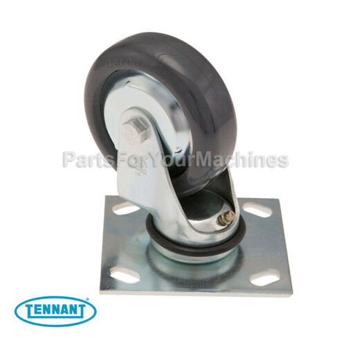 "OEM CASTER (1), TENNANT 5300, 5400, 5500 SCRUBBERS, 4""x1-3/8"", 612056, 1049048"