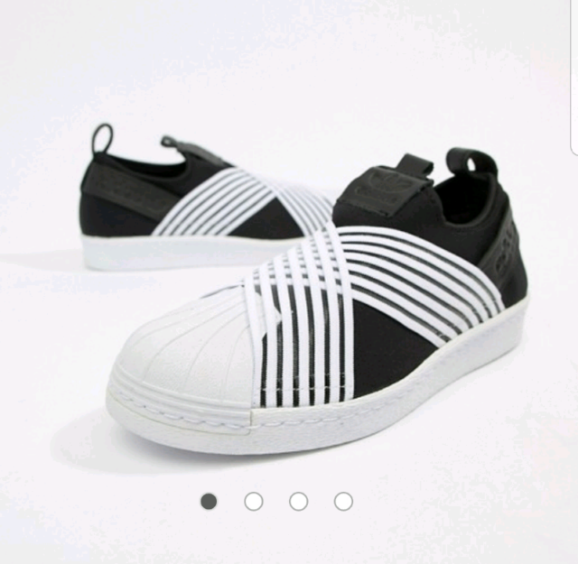 1e2153aec8 BNIB Adidas Originals Superstar Slip On Sneakers Size 36