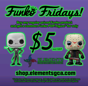 Time for $5 Funko Friday! Spooky NEW ARRIVALS!