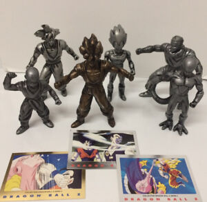 DRAGONBALL Z COMPLETE PROMO FIGURE SET!