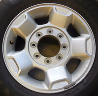 "17"" OEM F250/F350 Alloy & Steel Wheels - Price to sell!"