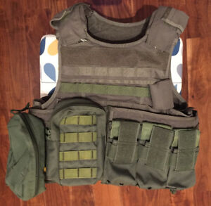 Pantac Airsoft Replica RAV Tactical Vest with Pouches