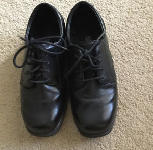 BOY'S BLACK DRESS SHOES