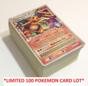 100 Pokemon card LOT Guaranteed ULTRA RARE card (LVL.X Prime EX)