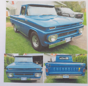 MUST SEE 1962 CHEVY SHORT BOX