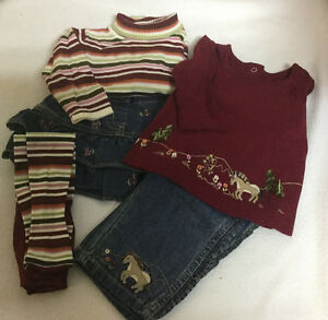 Gymboree 5 piece lot - Size 6-12 months