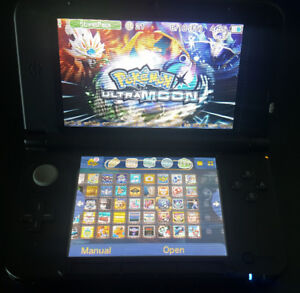 Blue Nintendo 3DS XL with over 70 3DS games!