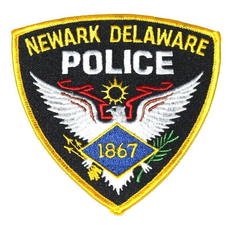 NEWARK DELAWARE DE Sheriff Police Patch EAGLE BANNER ARROWS OLIVE BRANCH ~