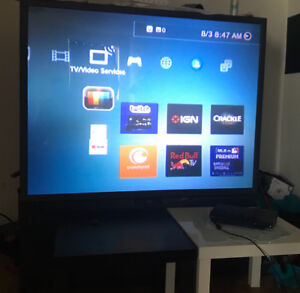 """Projection Tv 62""""+ PS3"""