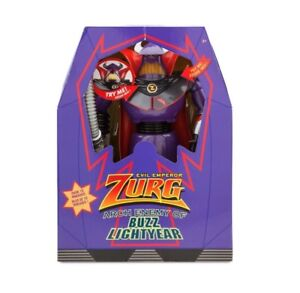 NIB Disney Store  Emperor Zurg Talking Action Figure Toy Story