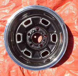 Chevy 1970s ZJ7 Rally Wheels 14x7 set of 4