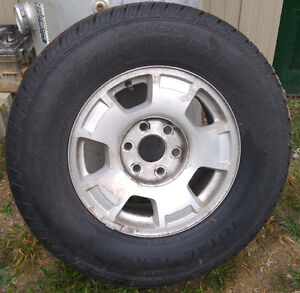 4 Tires & Rims for Tahoe-As New