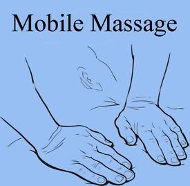 Mobile Massage, Northwest areas, Swedish, Indian Head, Heated Stones.
