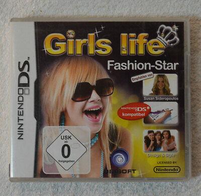 NINTENDO DS Spiel - GIRLS LIFE FASHION-STAR - mit OVP & Anleitung