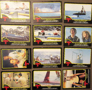 """1978 """"JAWS 2"""" COLLECTOR CARDS - UNIVERSAL STUDIOS 33 IN TOTAL..."""
