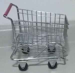 Mini Metal Shopping Cart Trolley