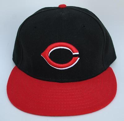CINCINNATI REDS MLB Baseball Cap Hat 7 1/8 OFFICIAL ON-FIELD COOL BASE New Era