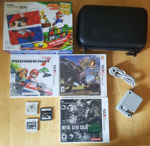 New Nintendo 3DS lot +15 games and more!