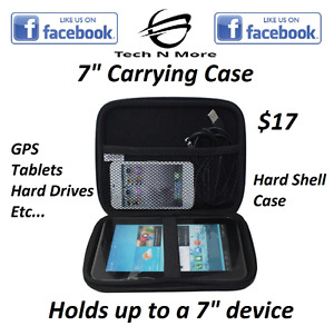 "7"" Hard Shell Device Carrying Case"