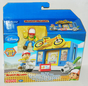 Disney Fisher-Price Handy Manny Bike Shop Construction Playset